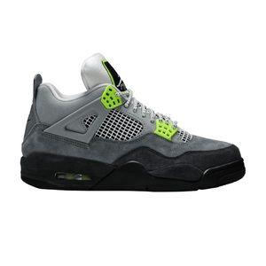 Jordan 4 Retro SE (CT5342 007), Neon & Grey, NEW